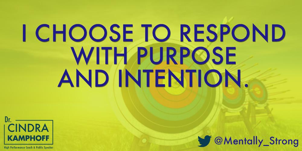 Purpose & Intention (Cindra Yellow)